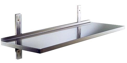 Ripiani e mensole in acciaio inox for Ikea mensole acciaio