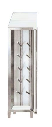 Stainless steel boots cabinets