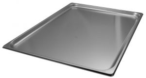 GST2/1P020 Steel Gastronorm Container 2 / 1 650x530 x H20 mm