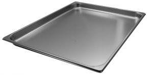 GST2/1P040 Container Gastronorm 2 / 1 h40 mm stainless steel AISI 304