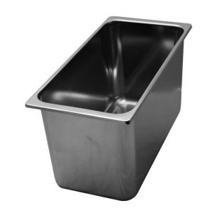 VG331618 stainless steel ice cream container 330x165x h180 mm