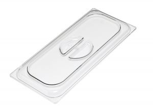 VGCV03 Transparent polycarbonate lid dim. 330x165 mm