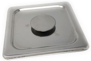 VGCV09 cover stainless bowl berries dim. 165x165mm