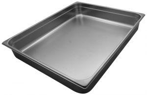 GST2/1P100 contenedores Gastronorm 2 / 1 H100 mm de acero inoxidable AISI 304