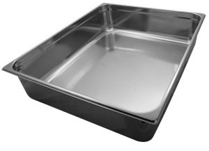 GST2/1P200 contenedores Gastronorm 2 / 1 H200 mm de acero inoxidable AISI 304