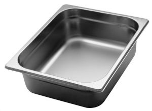 GST1/2P100 Gastronorm Container 1 / 2 h100 mm Stainless steel AISI 304