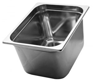 GST1/2P200 Gastronorm Container 1 / 2 h200 mm Stainless steel AISI 304