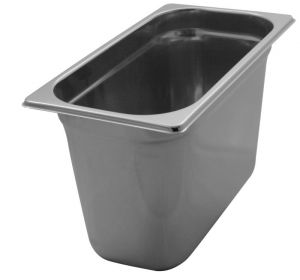 GST1/3P200 Gastronorm Container 1 / 3 h200 stainless steel AISI 304