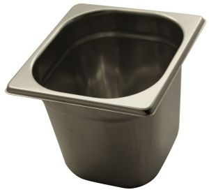 GST1/6P150 Gastronorm Container 1 / 6 h150 stainless steel AISI 304