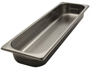 GST2/4P020 contenedores Gastronorm 2 / 4 h20 acero inoxidable AISI 304