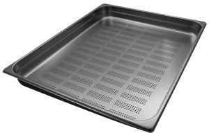 GST2/1P065F contenedores Gastronorm 2 / 1 H65 perforada de acero inoxidable AISI 304