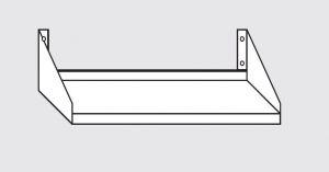 63803.08 Ripiano a parete porta forno cm 80x50x30h