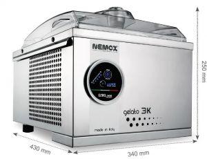 GELATO 3K TOUCH Professional Nemox ice cream machine NEW
