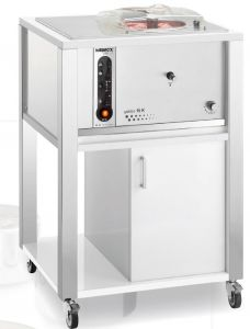 6K T-MB ice cream WHITE nemox professional freezer, suitable for any environment