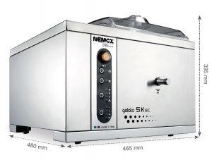GELATO-5K-CREA-SC Nemox Professional ice cream machine