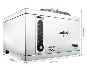 GELATO-6K-CREA Macchina da Gelato professionale Nemox