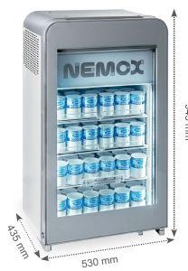 MAGIC PRO 90B vitrine réfrigérée Nemox Magic Pro 90B