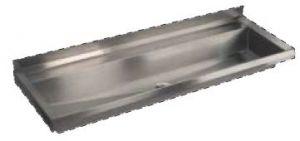 LX1720 Canalone pressopiegato 1000x400x122 mm AISI 304