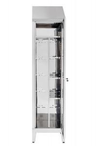 IN-S50.696.01 Cabinet For Scope And Objects For Work In Aisi 304 Cm Steel. 50X50X215H