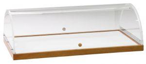A1299 Vetrinetta Espositore con cupola da banco 70x50x22h