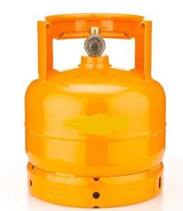 AB3 Botella de gas de 3 kg vacía para carro flambeado