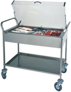 CA 1165 Refrigerated trolley eutectic plates