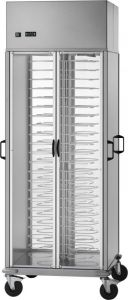 CA1439R Refrigerated cart for dish +8°+12°C capacity 88 plates Ø18/23