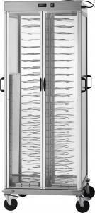 CA1440ACG Carrello portapiatti riscaldato +30+90°C capacità 92 piatti Ø25/31