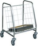 TCA 631 Tray stacking and distribution trolley Capacity 130 trays