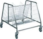 TCA 659 Carrello ritiro-distribuzione piatti 2 cesti 200 piatti