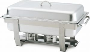 CD7905 Chafing Dish Rectangulaire en acier inoxydable