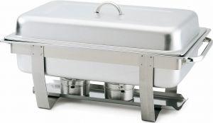 CD7905 Chafing dish con tapa acero inoxidable