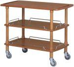 TCLP 2003 Wooden trolley 3 shelves 110x55x89h