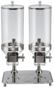 DC10302 Distributeur de céréales double 8+8 litres
