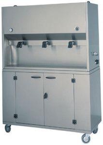 DCM1699  Distributeur petit-déjeuner 2 conteneurs 15 litres 75x41x135h