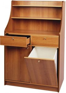 ML3100SS Alto hall furniture with 2 doors, size 95x49x144h