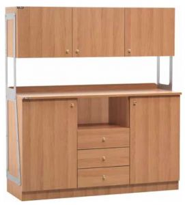 TML 3214SSPN Serving furniture Cutlery drawers 2 doors 3 drawers 3 wall units