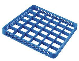 RIA36 Elevacion 36 compartimentos para cesta para lavavajillas 50x50 h4,5 azul