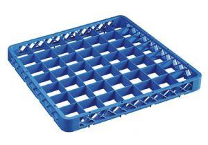 RIA49 Elévation 49 compartiments pour panier lave-vaisselle 50x50 h4,5 bleue