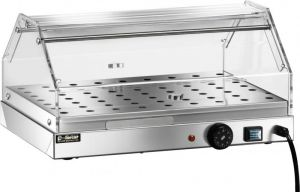 VBR4751 Warmed display case 1 shelf Stainless steel 50x35x25h
