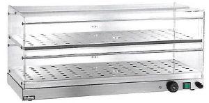 VBR4756 Warmed display-case 2 shelves 50x35x25h