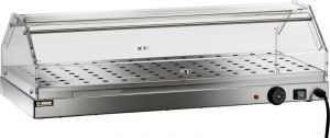 VBR4781 Warmed display case 1 shelf Stainless steel 85x35x25h