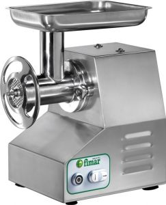 22TST Tritacarne elettrico in acciaio inox - Trifase