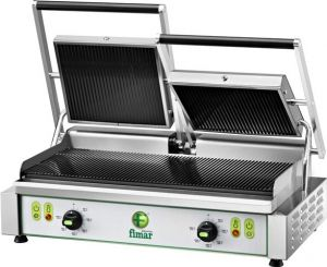 PE50RNT Three-phase 3400W double-row cast iron cooking plate