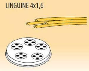 MPFTL4X16-25 Trafila LINGUINE 4x1,6 per macchina per pasta fresca