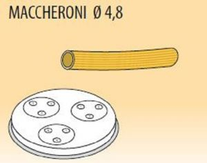 MPFTMA4-4 Trafila MACCHERONI Ø 4,8 per macchina per pasta fresca