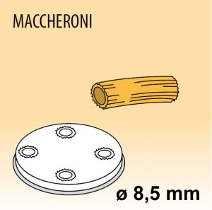 MPFTMA8-4 Trafila MACCHERONI Ø 8,5 per macchina per pasta fresca