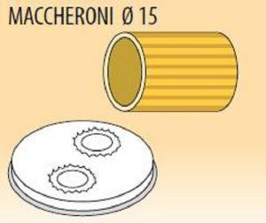 MPFTMA15-25 Trafila MACCHERONI Ø 15 per macchina per pasta fresca