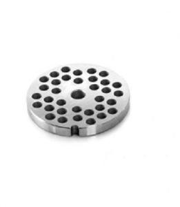 PE12T3 Piastra enterprise in acciaio inox fori 3-3,5 mm per tritacarne Fimar serie 12