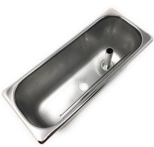 LVPVA-SHOVER Vaschetta lavaporzionatore 1 foro centrale per SHOVER